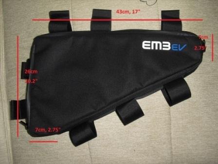 Sacoche cadre EM3EV - Sport-e-Bike